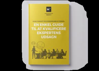 Sund fornuft på uvidenskabelig formel: En enkel enkel guide til at kvalificere ekspertens udsagn